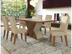 Kit Sala de Jantar Mesa e Cadeira
