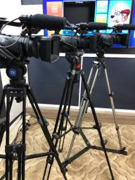 3 Filmadoras Sony Hdr Z5 completa versão estúdio Live Streaming