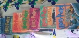 Kit de livros Herry Potter