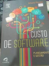 Livro Semi Novo de Custo de Software