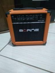 Amplificador Borne Strike G30 Combo 15W laranja 110V/220V