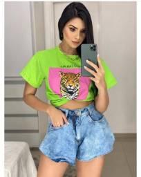 Short Feminino Jeans Gode Tendencia Verao