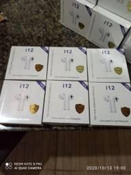 FONES BLUETOOTH i12 TWS ATACADO