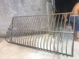 Grade de alumínio 2.60x120 cuida valor $350