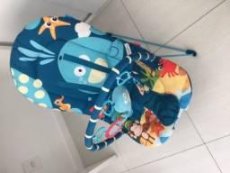 Cadeira bebê musical