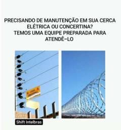INSTALAÇÃO E MANUTENÇÃO DE CONCERTINA E CERCA ELÉTRICA