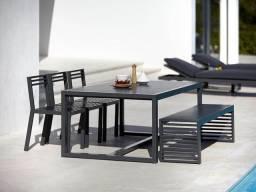 Conjunto de mesa industrial
