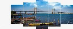 Decorativo Ponte Barra dos Coqueiros