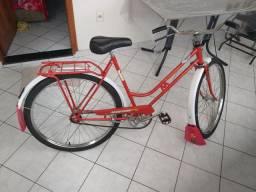 Bicicleta Monark antiga cachimbada