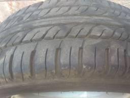 Jogo de rodas aro 15 com pneus Vectra