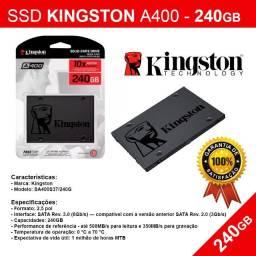 SSD Kingston de 240Gb - Novo Pronta Entrega
