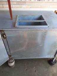 Vende-se Balcão de alumínio para comércio ou hot dog preço negociável !