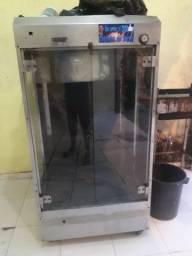 Maquina de assar frango ou carne