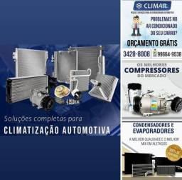 Ar condicionado veicular,ar condicionado automotivo,Compressor,condensador,evaporador