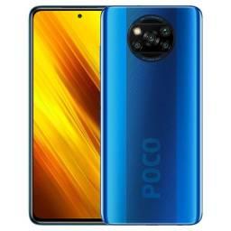 Poco X3 NFC (Blue) 6GB/128GB - Novo - Lacrado