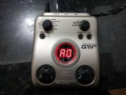 Pedaleira Zoom G1 NEXT + Fonte Bi Volt + Pedal complemento