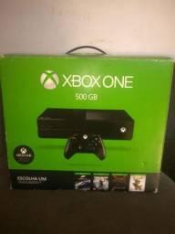 Troco Xbox one por PS4 acompanha 3 jogos físicos e 4 digital
