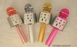 Microfone Bluetooth