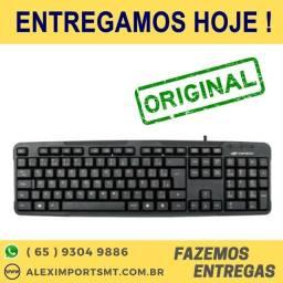 Teclado Multimídia Original Bk-140m Usb- Exbom Tecrado Completo