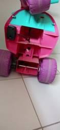 Moto Elétrica Bandeirante Gatinha - Rosa<br><br>