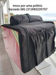 Mochila Bag térmica motoboy pizza 45 litros