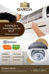 Conserto de Máquina de Lavar, Geladeira, Microondas,Freezer e Ar condicionado.