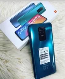 Celular Xiaomi Note 9 128GB/4GB Tecnologia 4G somos loja física
