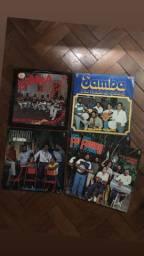 Discos LPs Fundo de Quintal