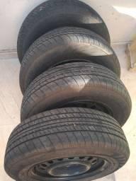 4 pneus Vectra 185/70/14 semi novos