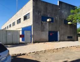 Pavilhão industrial + casa + deposito