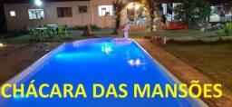 Linda Chácara das Mansões com Piscina R$ 400 MIL