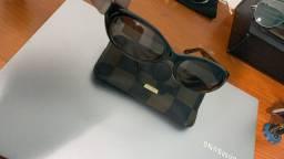 Óculos Fendi black leopard original