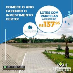 Villa Cascavel 2 no Ceará Loteamento (agende sua visita) !%%%