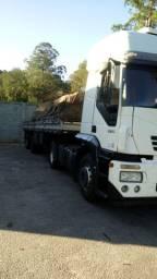 Caminhão Iveco stralis 380 toco e carreta 2012.