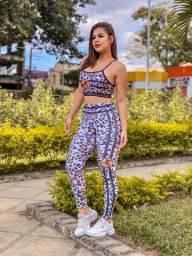 Conjunto Legging + Top Fitness