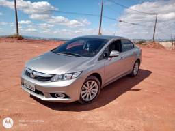 Honda Civic com divida, financiamento Santander