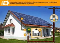 Energia Solar para sua casa ou empresa, projeto, aprovação e instalação com garantia