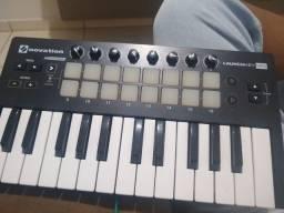 Vendo teclado MID INOVATION com 25 teclas e contém PAD