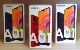 Samsung Galaxy A01 32GB 5.7 13Mp Dual Chip Octa-Core NF Garantia Lacrado