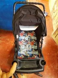 Vendo /T carrinho de bebê semi novo