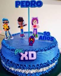 Bolos, CupCakes, Docinhos,  Kits p Festas Aniversário