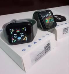 Novo smartwatch V6,nas Cores, Cinza, Azul, Vermelho e Preto