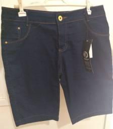 Bermuda jeans feminina Tam 44 nova
