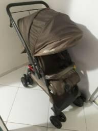 1 Carrinho de bebê semi novo, 2 bebê conforto , 1 cadeirinha de bicicleta , 1 andaja