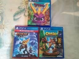 Jogos PS4 em ótimo estado de conservação