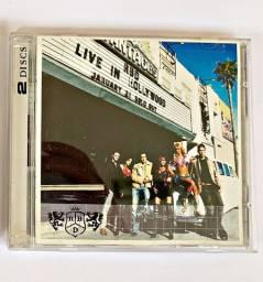 RBD Live In Hollywood CD e DVD- Duplo - Novo - Raro