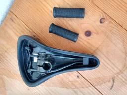 Jogos de um selim e dois punhos  para bike