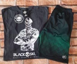 Kit Camiseta e Bermuda
