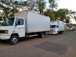 Caminhão retornando vazio Umuarama dia 20/10
