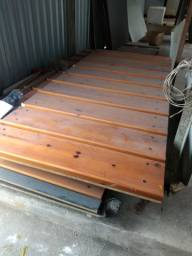 Painel canaletado de madeira 499,00 a peça